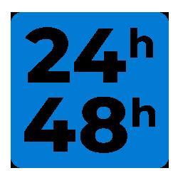 Entrega en 24/48 horas