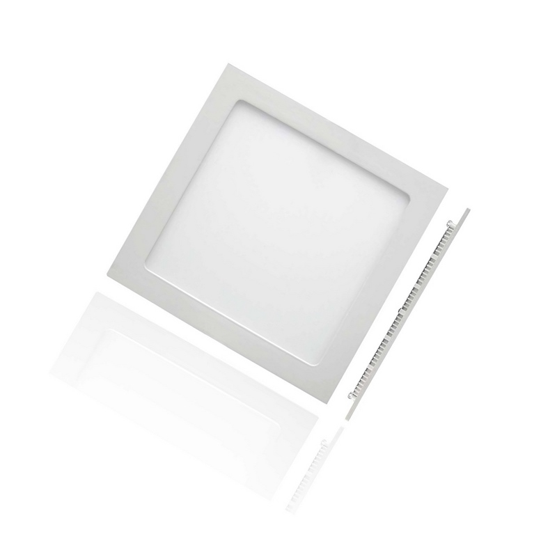 Focos Downlight Slim LED Ultrafino Cuadrado