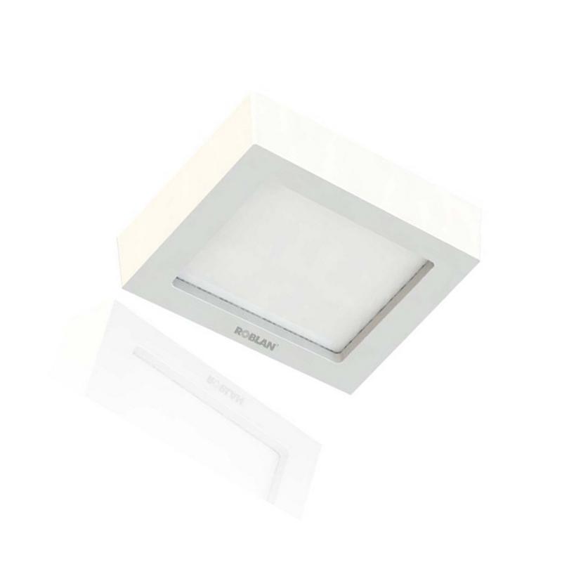 Focos Downlight LED Superficie Cuadrado