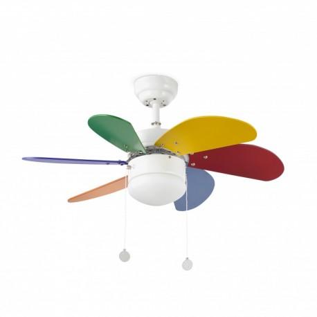 Ventilador Techo Palao Multicolor