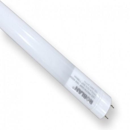 Tubo Fluorescente LED PRO 600mm 10W  PC+AL Casquillo giratorio Roblan