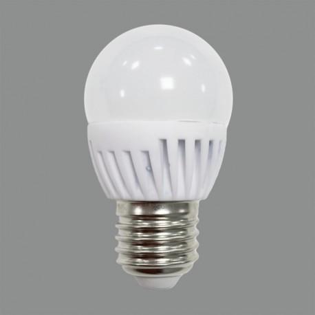 Bombilla LED ESFERICA  E27 9W 3000k ACB Iluminación