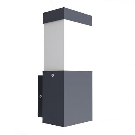 Aplique rectangular para LED E27 Exterior