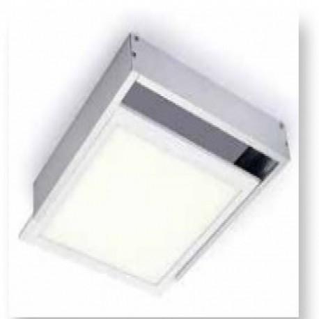 KIT SUPERFICIE  para Panel LED 600x600mm Marco Blanco/Aluminio roblan