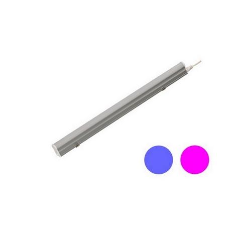 Regleta LED T5 9W 120º G13 Azul y Rosa