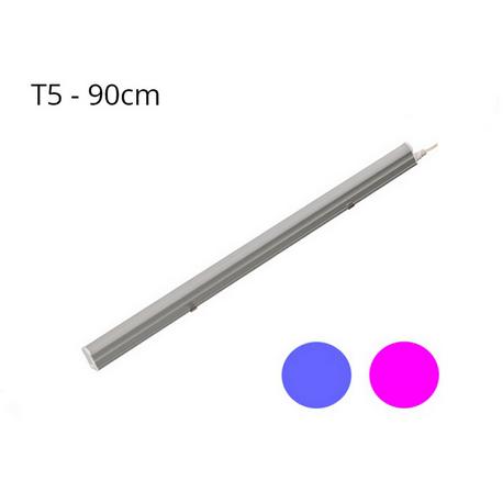Regleta LED T5 15W 120º G13 Azul y Rosa