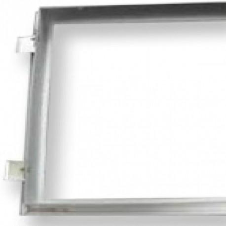 KIT blanco para empotrar Panel 300x1200mm en techos escayola Roblan