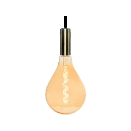 Bombilla LED Vintage  A160 GL Regulable E27 Silver Sanz