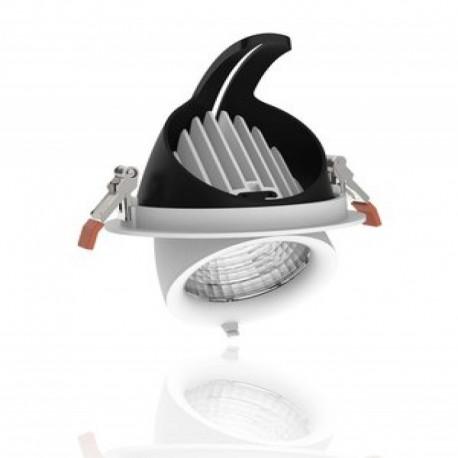 Foco Downlight LED Circular Basculante 40W Roblan