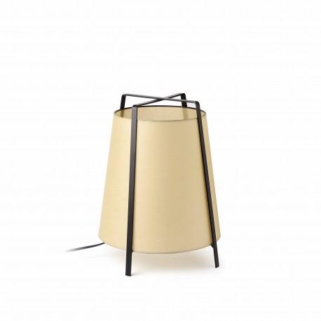 Lámpara de sobremesa Akane p  beige 1x27 max 20w de Faro