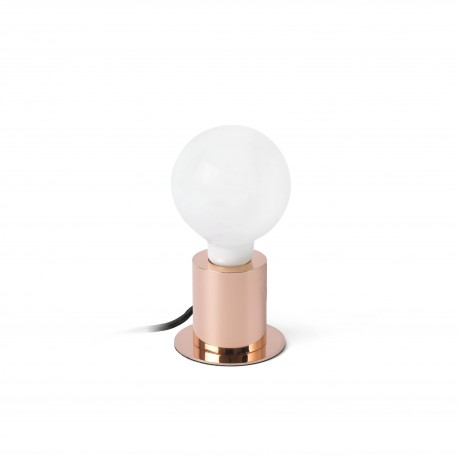 Lámpara de sobremesa Ten cobre de Faro