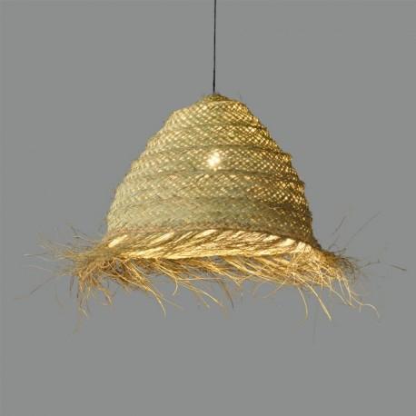 Lámpara de techo Samira Colgante/50 Rafia Natural de ACB Iluminación