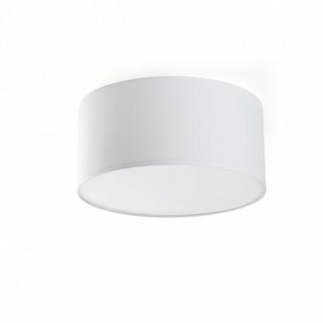 SEVEN Lámpara plafón blanco Ø40 de Faro