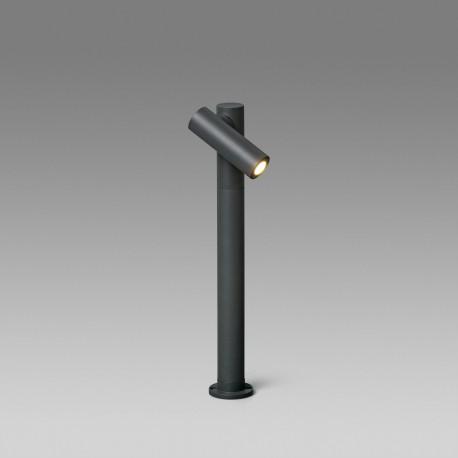 SPY-2 BALIZA GRIS OSCURO LED 6W H430 30°