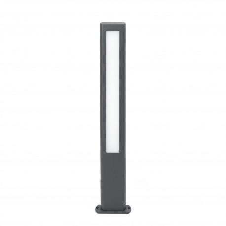 NANDA BALIZA GRIS OSCURO H800 LED 12,5W 3000K