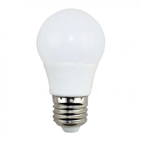Bombilla LED E27 G45 5W en Caja 6500