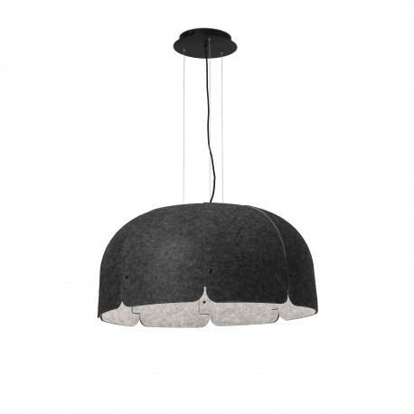 MUTE GRIS OSCURO/CLARO LED 24W 3000K