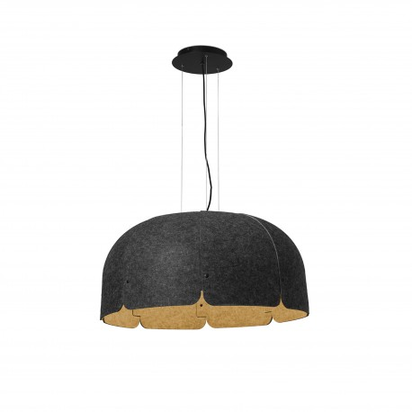 MUTE GRIS OSCURO/MARRON LED 24W 3000K DIMABLE