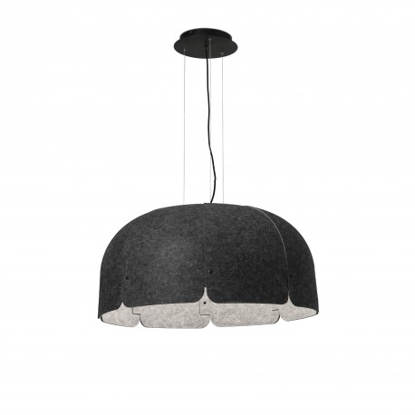 MUTE GRIS OSCURO/CLARO LED 24W 4000K DIMABLE