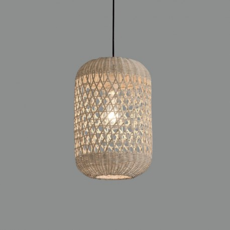 Lámpara de techo Vivian Colgante/40 Rafia Natural de ACB Iluminación