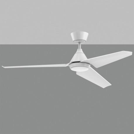 Ventilador de techo blanco mate BORA acb iluminacion