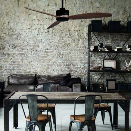 Ventilador de techo Garbin en color negro ACB iluminacion
