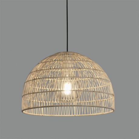 Lámpara de techo Evens Colgante/40 Ratán Natural de ACB Iluminación