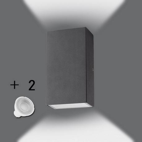 Aplique LED 12W REIMS Doble Luz Exterior IP54