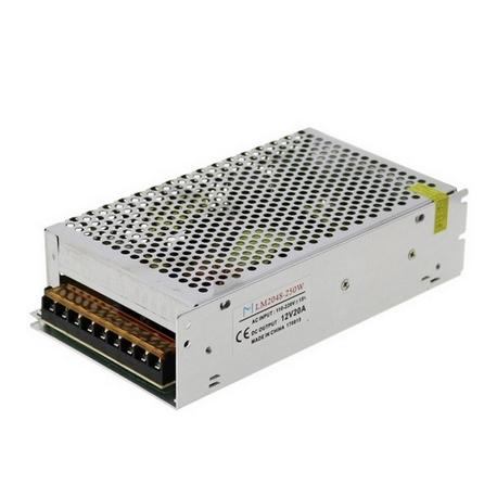 Fuentes de alimentación para tiras LED 250W 12VDC