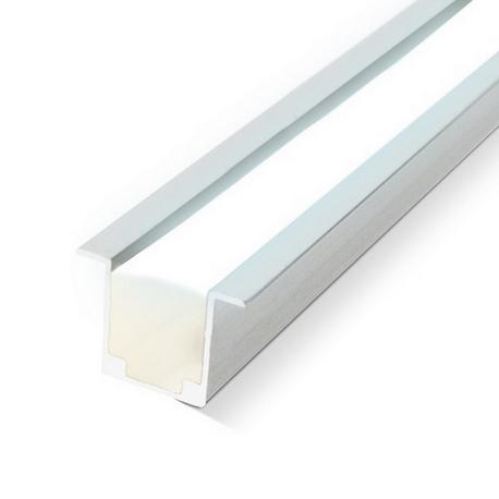 Perfil de aluminio con Alas 1 metro para Neón LED 24V