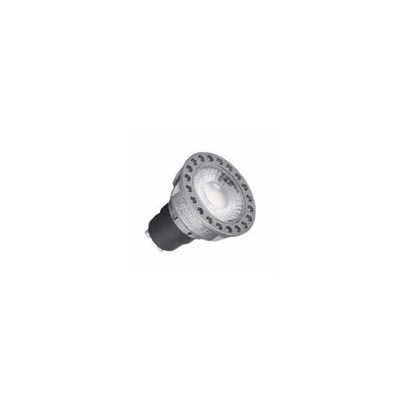 LED Compact Dicroica 8W GU10 5000K Silver Sanz