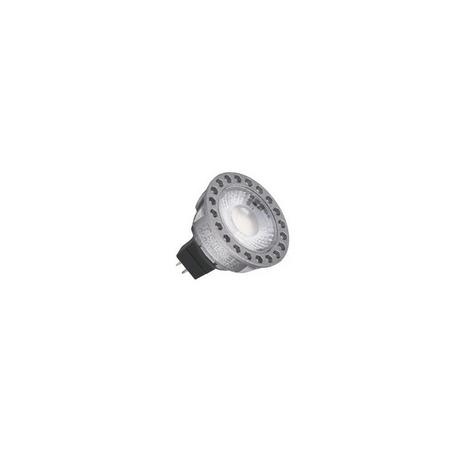 LED Compact Dicroica GU5.3 3000K Silver Sanz