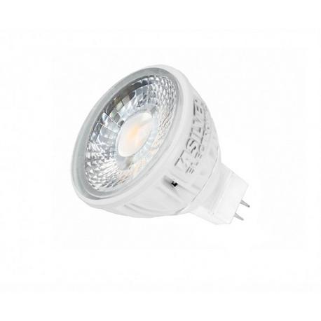 LED Pro Dicroica GU5.3 5000K Silver Sanz