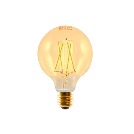 Bombilla LED FILAMENTO Globo Edison 3W E27 Silver Sanz