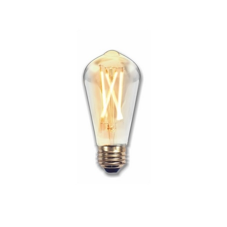 Bombilla LED FILAMENTO Pera Edison 2W E27  Silver Sanz