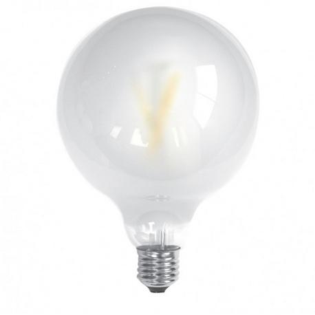 Bombilla LED FILAMENTO GLOBO Mate 6W E27 Silver Sanz