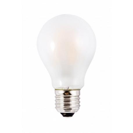 Bombilla LED FILAMENTO Estándar Mate 6W E27 Silver Sanz