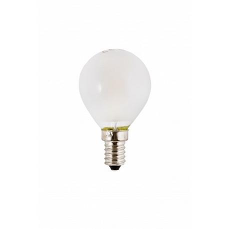 Bombilla LED Filamento Esférica Mate 5000K Silver Sanz
