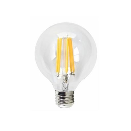 LED Filamento Globo Transparente 3000K Silver Sanz
