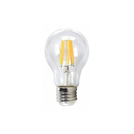 Bombilla LED FILAMENTO REGULABLE Estándar 6W E27 Silver Sanz
