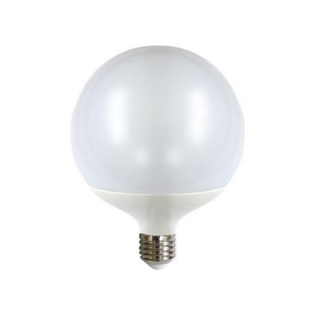Bombilla LED DECORATIVA Súper Globo 15W E27 Silver Sanz