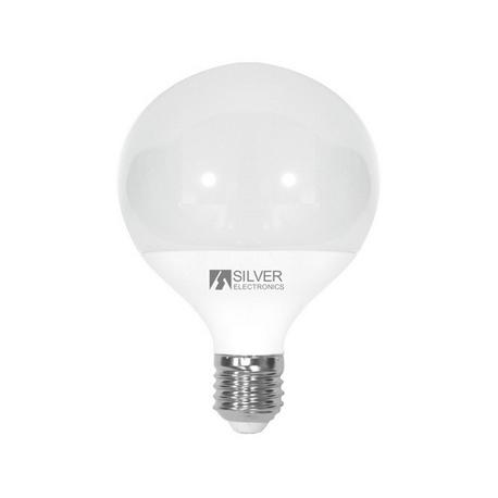 Bombilla LED DECORATIVA Globo 12W E27 Silver Sanz
