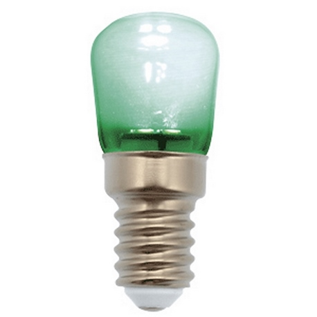 PEBETERO LED VERDE 1W E14 IP44 230V