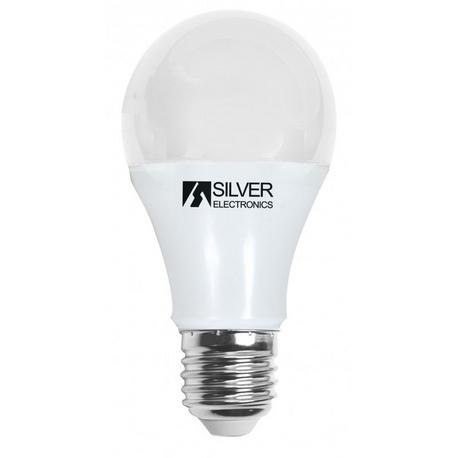 Bombilla LED Estándar SI E27 8W Regulable Silver Sanz