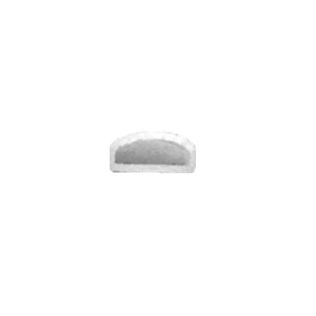 Tapas para tiras LED PRO 220-240V (5 unds.) Silver Sanz