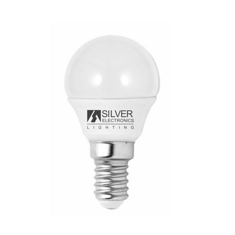 Bombilla LED ECO Esférica 5W E14 Silver Sanz