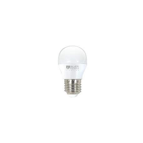 Bombilla LED Esférica 12V 5W E27 Silver Sanz