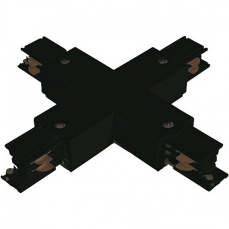 Conector en X TK Negro-Blanco Roblan