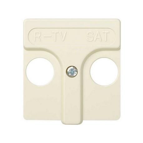 TAPA 45X45 MM PARA R-TV SAT