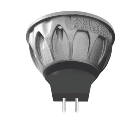 Bombilla LED EVO dicroica 8W GU5.3 Silver Sanz